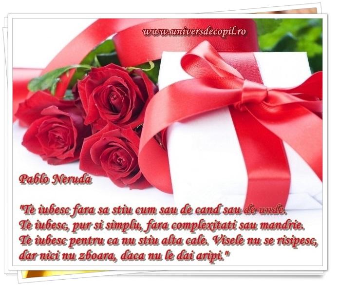 Felicitari si declaratii de dragoste speciale de Valentine's Day
