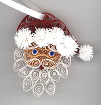 quilling iarna